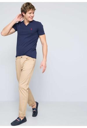 U.S. Polo Assn. Gts03iy7 Erkek T-Shirt Lacivert