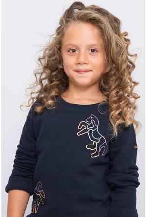 U.S. Polo Assn. Kız Çocuk Demy Pantolon Krem Rengi