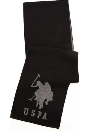 U.S. Polo Assn. Erkek Martinsk7 Atkı Siyah