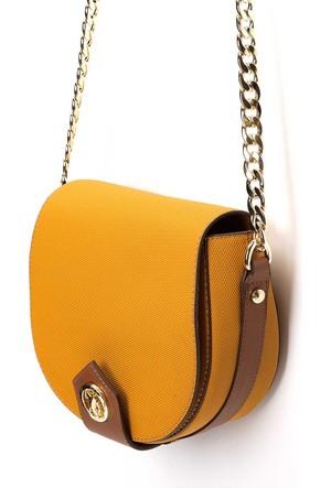 U.S. Polo Assn. Kadın K7Us17604 Çanta Kahverengi