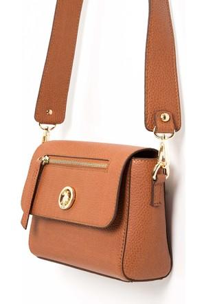 U.S. Polo Assn. Kadın K7Us17823 Çanta Kahverengi