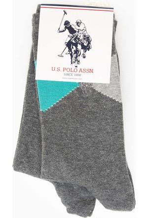 U.S. Polo Assn. Kadın Windsk7 Çorap Gri