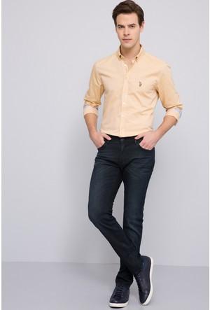 U.S. Polo Assn. Erkek Barthez-Khv Kot Pantolon Kahverengi