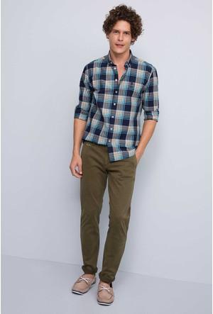 U.S. Polo Assn. Erkek Kenn7S Kot Pantolon Lacivert