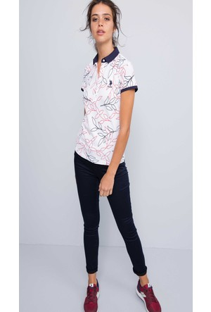 U.S. Polo Assn. Kadın Prettx7S Pantolon Lacivert
