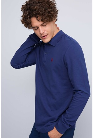U.S. Polo Assn. Erkek Gtp01Sk7 Sweatshirt Lacivert