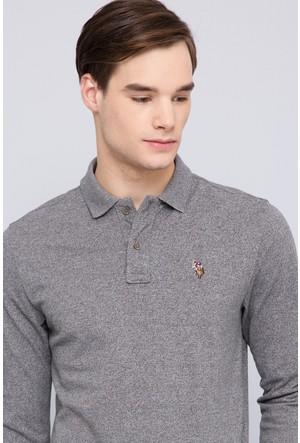 U.S. Polo Assn. Erkek Jure Sweatshirt Kahverengi