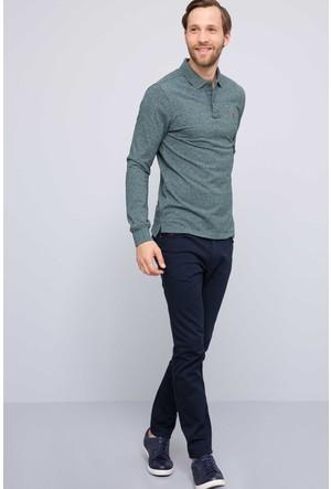 U.S. Polo Assn. Erkek Jure Sweatshirt Yeşil