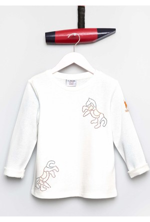 U.S. Polo Assn. Kız Çocuk Sean Sweatshirt Bej