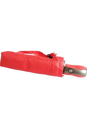 Forentina Bayan Kırmızı Tam Otomatik Şemsiye Fr0539