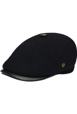 Pozze Kışlık Dikişsiz Keçe Kasket - Kışlık Erkek Şapka