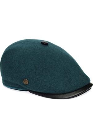 Pozze Dikişsiz Keçe Kasket - Kışlık Erkek Şapka