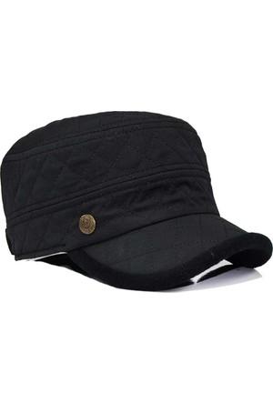 Pozze Su İtici Kapitone Kastro - Kışlık Erkek Şapka