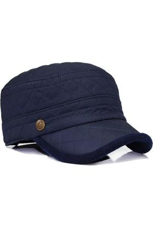 Pozze Su Geçirmez Kapitone - Kışlık Erkek Şapka