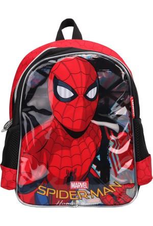 Spiderman 89351 Kırmızı Siyah Erkek Çocuk Okul Çantası
