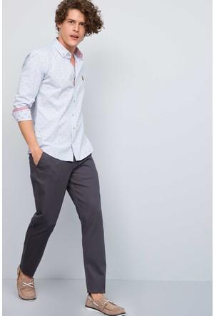U.S. Polo Assn. Erkek Kenn7S Kot Pantolon Gri