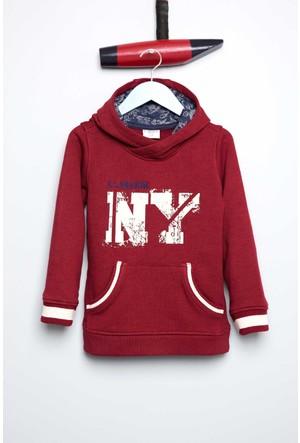 U.S. Polo Assn. Erkek Çocuk Carterr Sweatshirt Kırmızı
