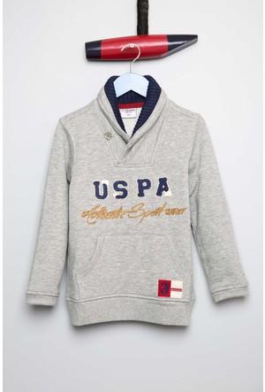 U.S. Polo Assn. Erkek Çocuk Robertsr Sweatshirt Gri
