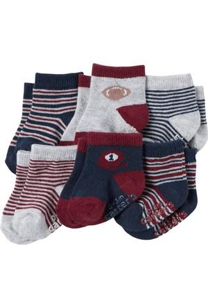 Carter's Erkek Bebek 6'lı Çorap CR03251