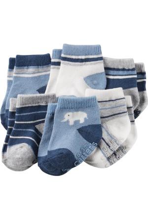 Carter's Erkek Bebek 6'lı Çorap CR03254