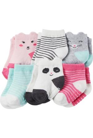 Carter's Kız Bebek 6'lı Çorap CR03264