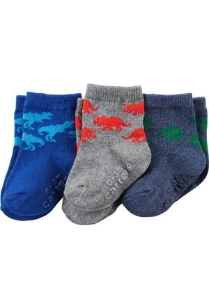 Carter's Erkek Çocuk 3'lü Çorap CR03293