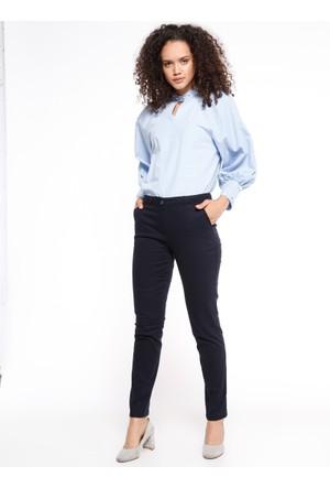 Boru Paça Pantolon - Lacivert - Koton