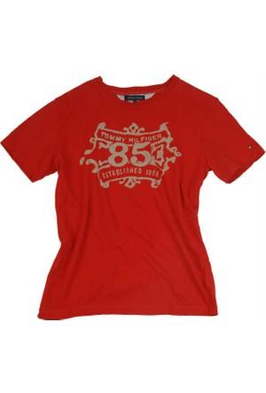Tommy Hilfiger 0886215805-640 Erkek T-Shirt