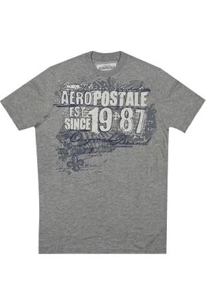 Aeropostale 1070-Lththr Erkek T-Shirt