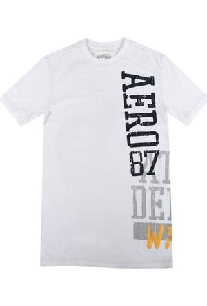 Aeropostale 3550-Bleach Erkek T-Shirt