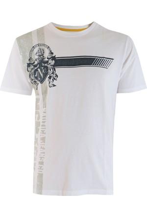 Nautica Re0269--101 Erkek T-Shirt