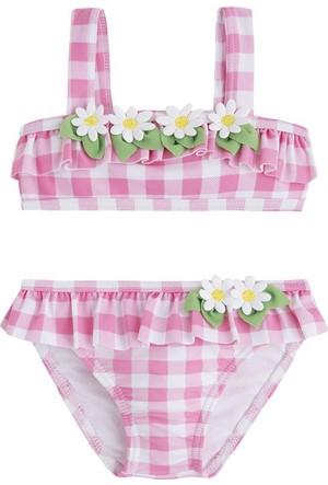 Mayoral Kız Kareli Bikini