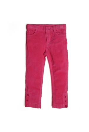 Soobe Kız Çocuk Pantolon Koyu Pembe