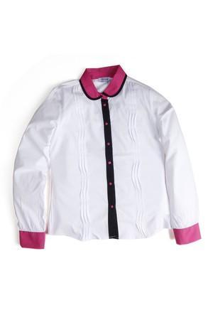 Soobe Kız Garson Gömlek Fuşya