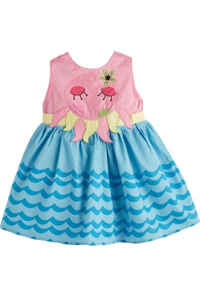 Soobe Little Mermaids Kolsuz Elbise Pembe 1 Yaş