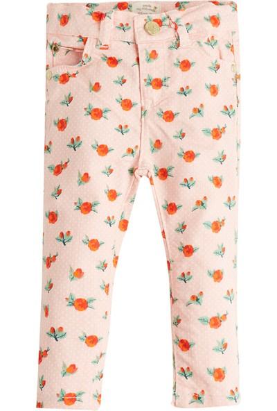Soobe Pop Girls Çiçekli Pantolon Pink Lady 6 - 9 Ay