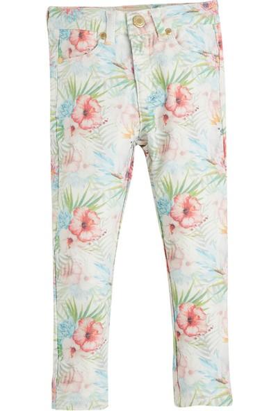 Soobe Pop Girls Çiçekli Pantolon Baskılı 3 Yaş