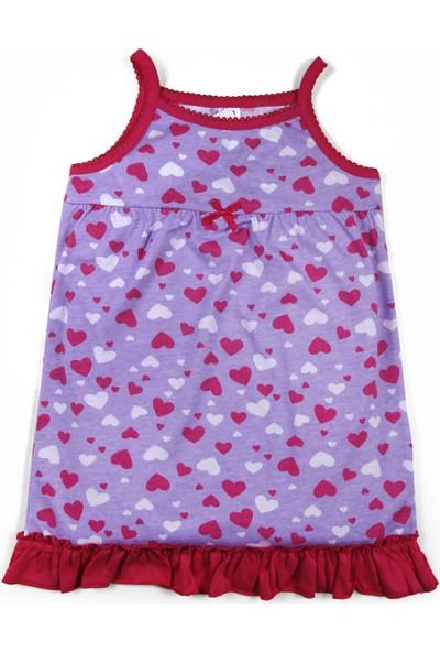 Soobe Kız Çocuk Gecelik Lila 9 - 12 Ay