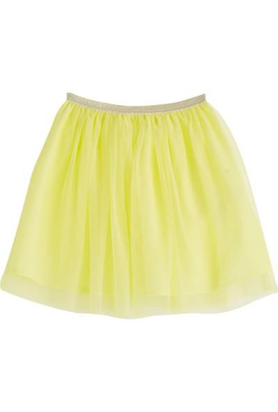 Soobe Pop Girls Tütülü Etek Limon Sarısı 12 Yaş