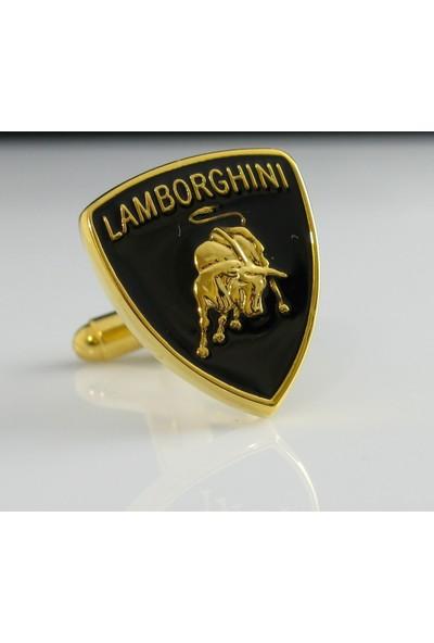 Extore Kol Düğmesi Lamborghini Amblem