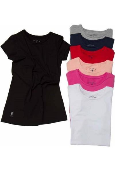 U.S. Polo 66002 Kısa Kollu Yuvarlak Yaka T-Shirt