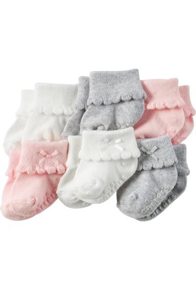 Carter's Kız Bebek 6'Lı Çorap GB12518