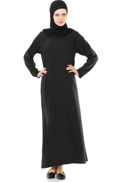 İhvan 5007-1 Kendinden Örtülü Pratik Namaz Elbisesi