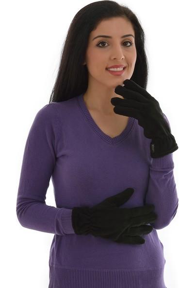 Softlook 8305 Bayan Polar Eldiven - Siyah