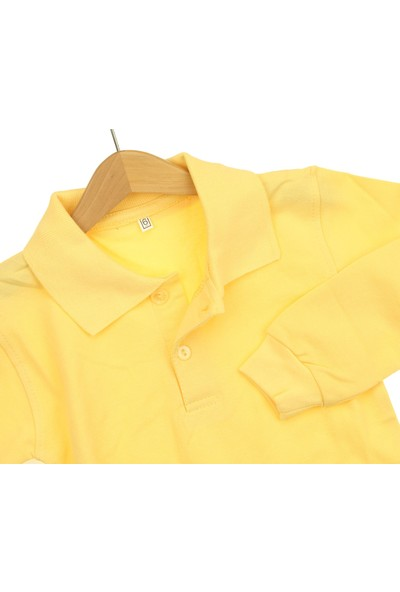 Modakids Uzun Kol Sarı Okul Lakos T-Shirt 019-9511-001