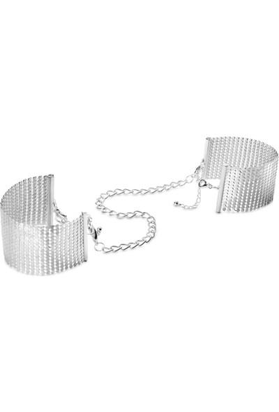 Bijoux Indiscrets Desir Metallique Metal Örgü Kelepçe Bileklik Gümüş