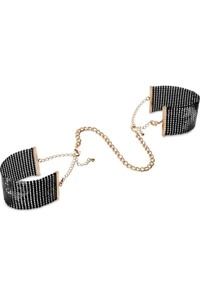 Bijoux Indiscrets Desir Metallique Metal Örgü Kelepçe Bileklik Siyah