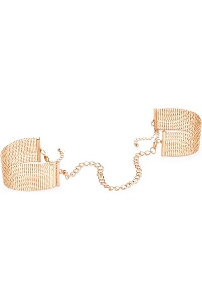 Bijoux Indiscrets Magnifique Metal Zincir Kelepçe Bileklik Altın