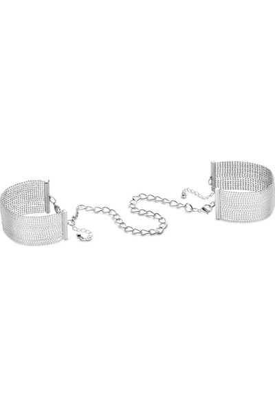 Bijoux Indiscrets Magnifique Metal Zincir Kelepçe Bileklik Gümüş
