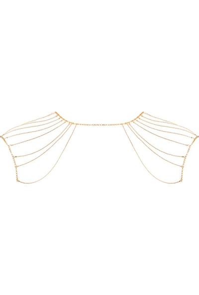 Bijoux Indiscrets Magnifique Metal Zincir Omuz Sırt Kolyesi Altın